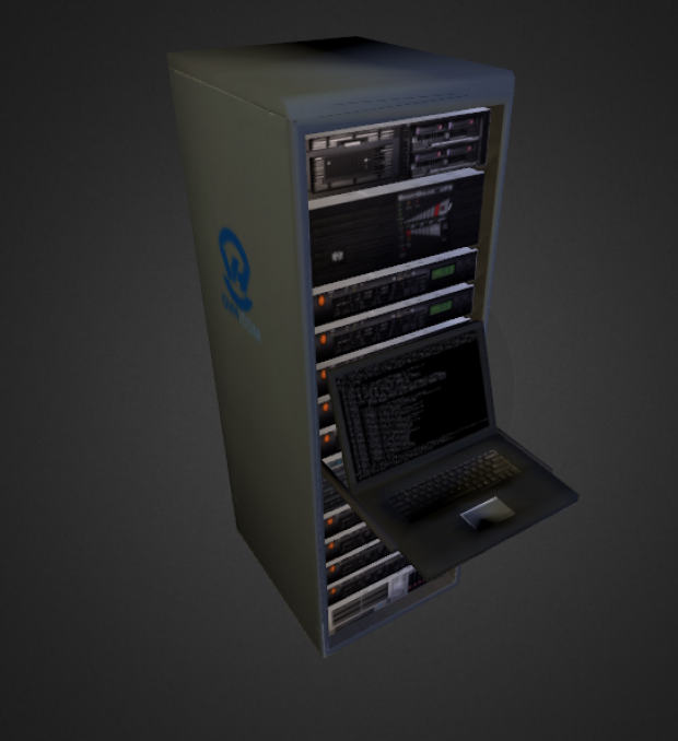 Server Rack Downloadfree3d Com