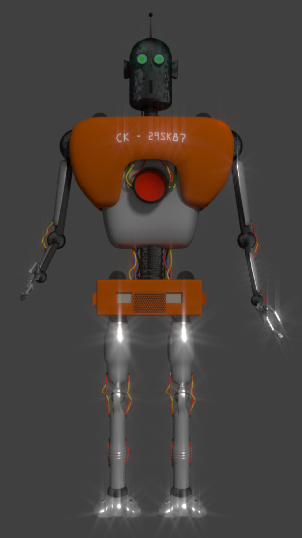 Simple Robot | DownloadFree3D.com