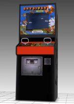 SkyDiver Upright Arcade Machine 3D model