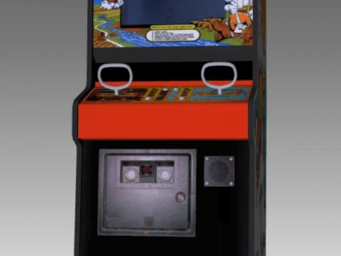 SkyDiver Upright Arcade Machine 3D model