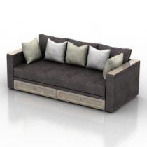 Sofa Rost 3d model
