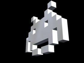 Space Invader 3D model