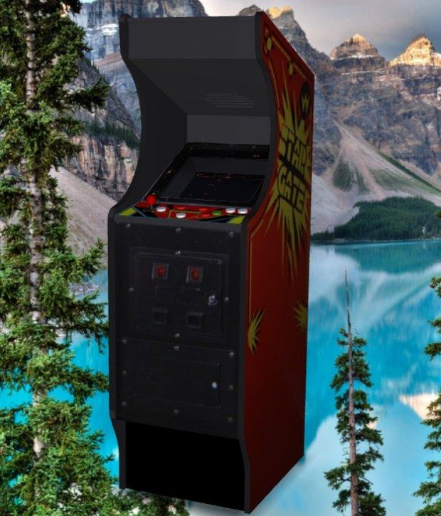 Star Gate Upright Arcade Machine Downloadfree3d Com