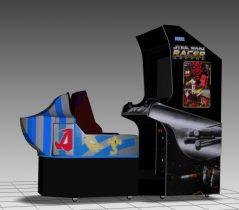 Star Wars Pod Racer Sitdown Arcade Machine 3D model