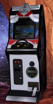 Super Monaco GP Upright Arcade Machine 3D model