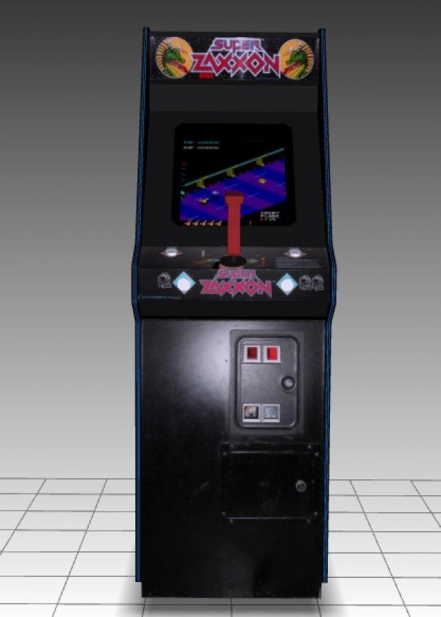 Super Zaxxon Upright Arcade Machine Downloadfree3d Com