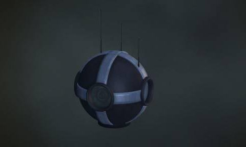 Surveillance Camera Orb 3D model