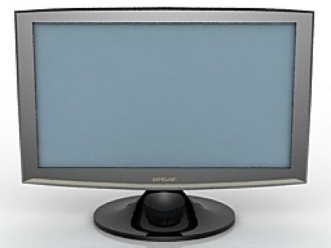 TFT Monitor Samsung 17 3D model