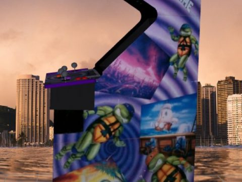 TMNT2 Turtles in time Upright Arcade Machine