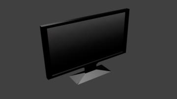 TV LCD 3D model
