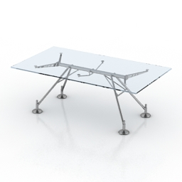 Table Norman Foster The Nomos 3d model
