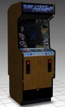 Tac Scan Upright Arcade Machine 3D model