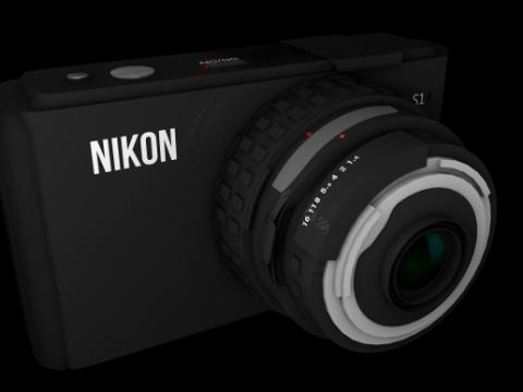 The Camera 3D model