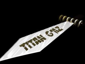 Titans Sword 3D model
