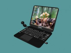 Toshiba Laptop 3D model