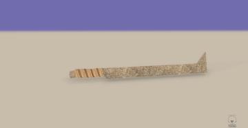 Uruk Hai Sword 3D model