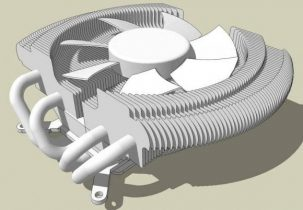 Zalman VF2000 3D model