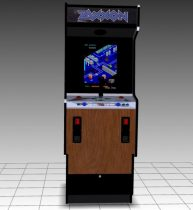 Zaxxon Upright Arcade Machine 3D model