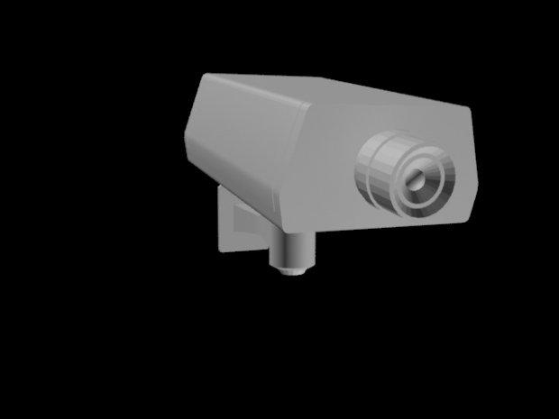Camera 3D model
