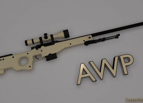Enhanced AWP 3D model