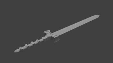 Great sword 3D model