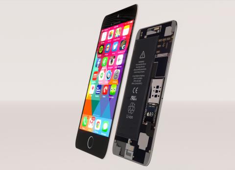 iPhone 6s concept 3D model