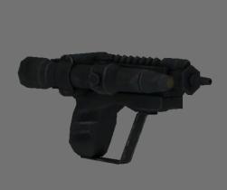 Scout trooper blaster pistol 3D model