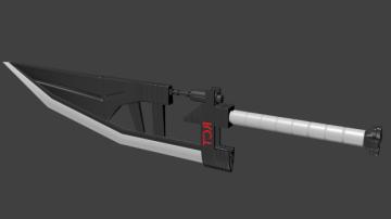 Sword 02 3D model