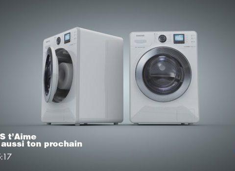 Washing machine samsung smart 3D model