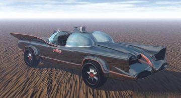 1960 batmobile 3D model