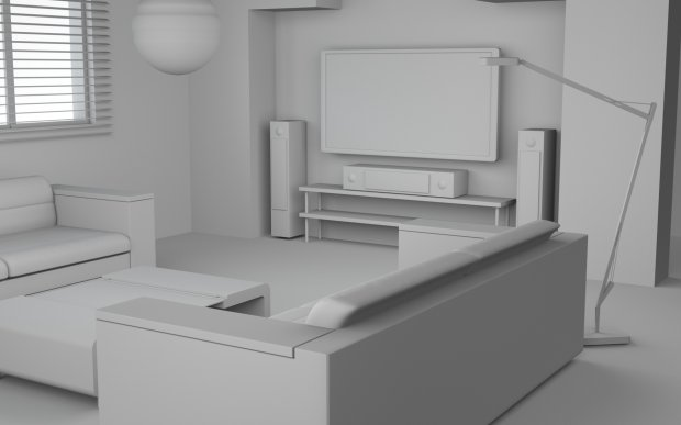 A simple room