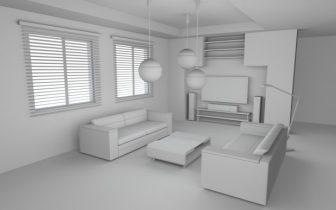 A simple room 3D model
