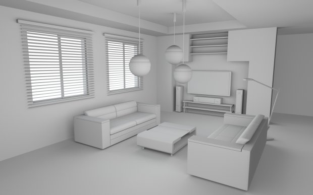 A Simple Room Free 3d Models