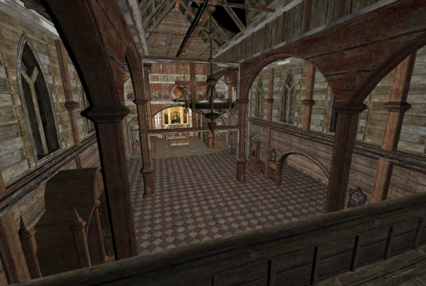 Abandoned Church Downloadfree3d Com