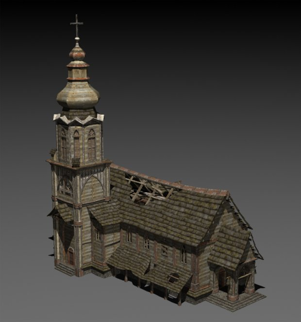 Abandoned Church Downloadfree3d Com