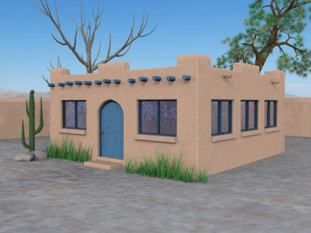 Adobe House Downloadfree3d Com