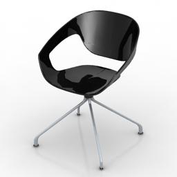 Armchair 3ds model