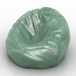 Armchair Bean Bag 3d model