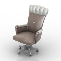 Armchair Lanpas 3d model
