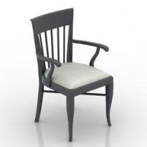 Armchair aston 3d model