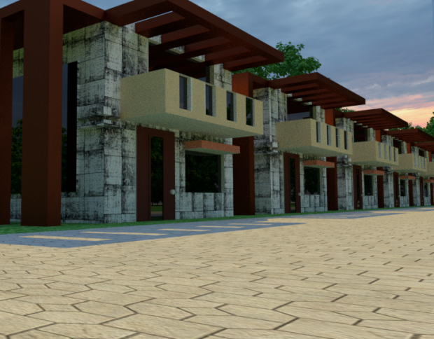Array residential Building | Free 3D models