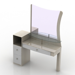 Dressing table Cheval 3d model