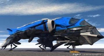 Eagle 5 Transport 3D model
