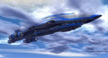 Endor Battlecruiser 3D model