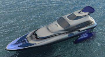 Fantasy Yacht 3D model