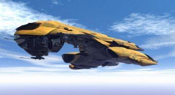 Federation Interceptor Battle Cruiser 3D model