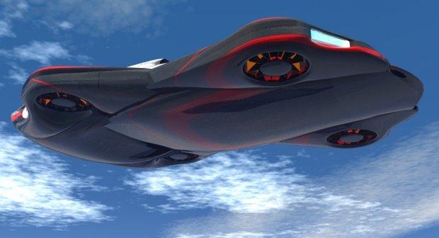 HN48 Flying Car | Free 3D models