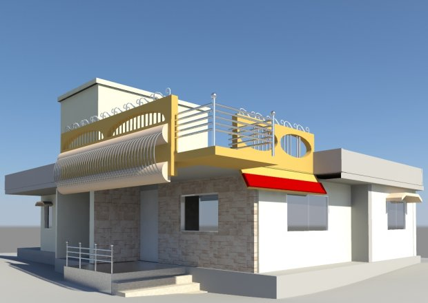 Home for Home 3d model
