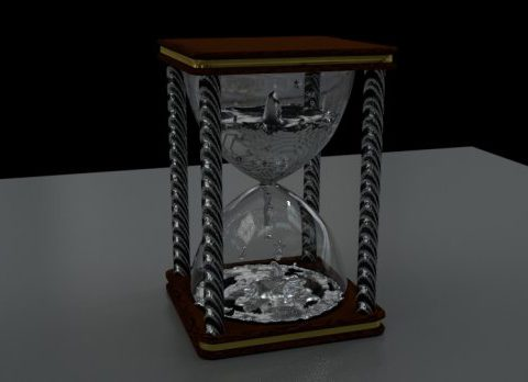 Hour Glass 3D model