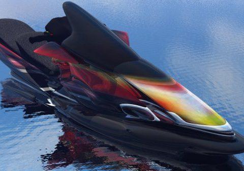 Jetski Predator 3D model